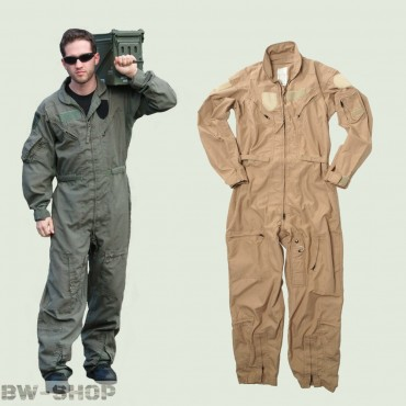Original US Army Air Force Fliegerkombi Cwu 27/P Pilotenkombi oliv & khaki Overall