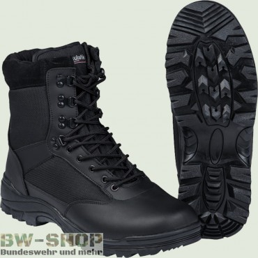 Security Stiefel Neu Tactical Swat Boot schwarz