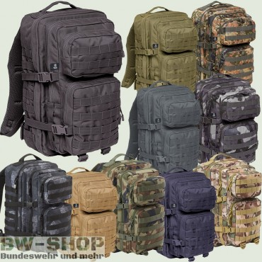 US Assault Pack Rucksack Neu Medium 30L & Large 50L
