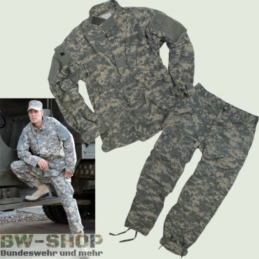 Original US Army Jacke / Hose ACU AT-Digital Tarn