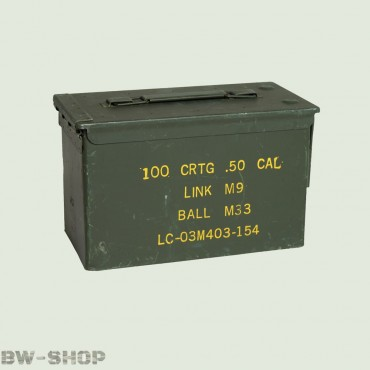 Original US Munitionskiste BW Ammo Box